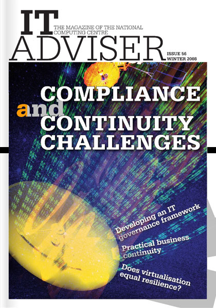 NCC invite TCC to write an article on Agile Methods for IT Advisor Magazine