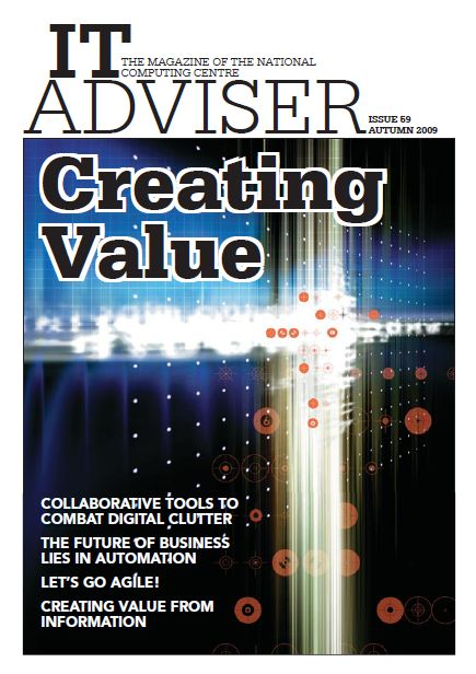 NCC invite TCC to write an article on Agile for IT Advisor Magazine