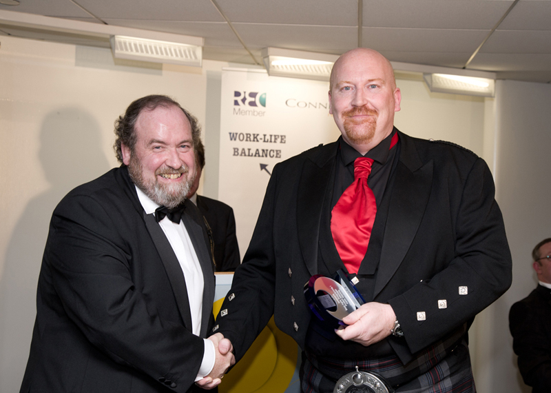 Keith Sterling wins Best Agile Project / Programme Manager at the UK Agile Awards