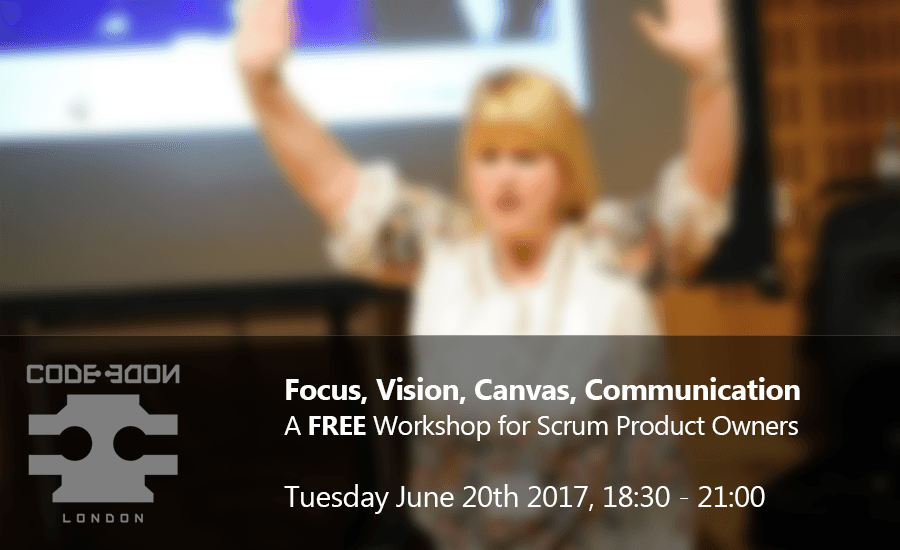 FREE Workshop for Scrum Product Owners - Focus, Vision, Canvas, Communication
