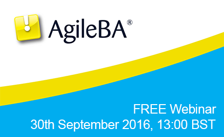 Business Analysis in an Agile World - Free Webinar